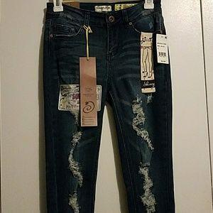 🛑PRICE DROP🛑 INDIGO REIN Superluxe Skinny Jeans